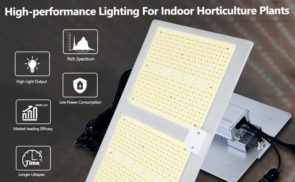 SOMETHING YOU NEED TO KNOW ABOUT LED GROW LIGHTS