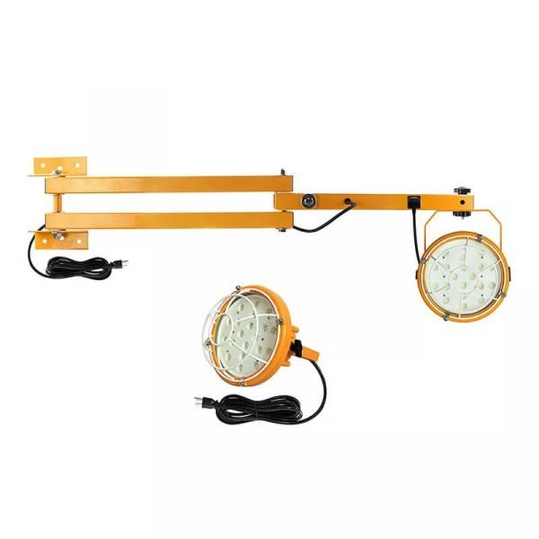 High Quality Led Dock Lights With 40″ 60″ Swing Arm