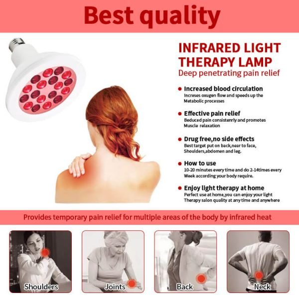 YouLumi Red Light Therapy Bulb